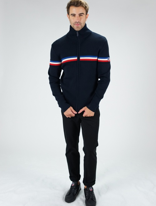 MEN KNITTED SWEAT WENGEN FIZ