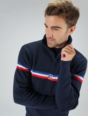 MEN KNITTED SWEAT WENGEN II