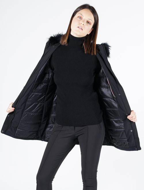 WOMEN COAT CALYPSO FUR