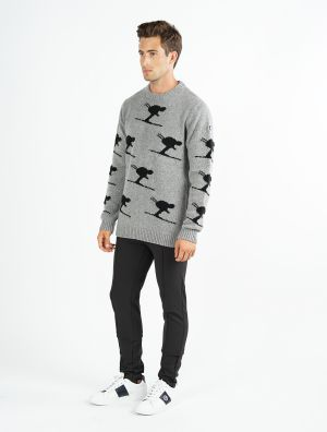 SCHUSS MEN KNITTED SWEAT