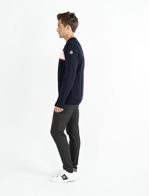 MEN KNITTED SWEAT SKI OUT