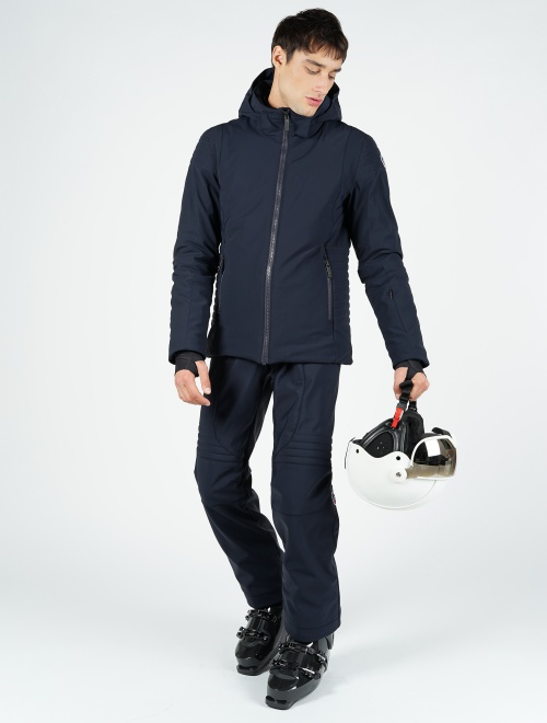 De Ski Masculine Softshell Veste Matiere Power En Technique PwzZZx