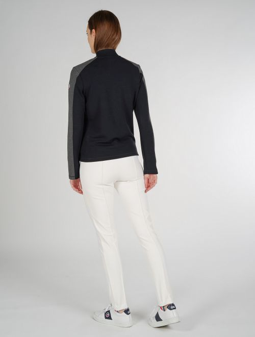 PERON WOMEN ZIPPED SWEATER
