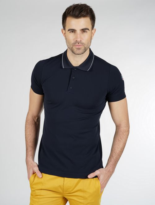 AUBIN MEN SEAMLESS POLO SHIRT