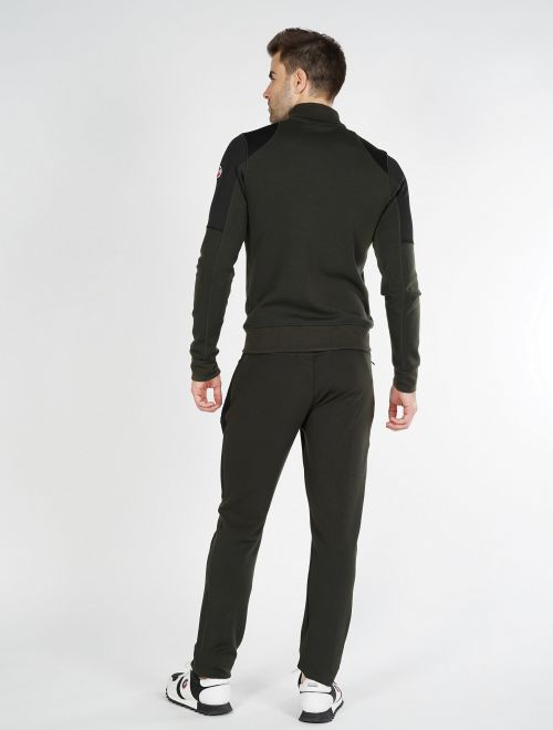 RIVEL MEN ZIPPED SWEATER