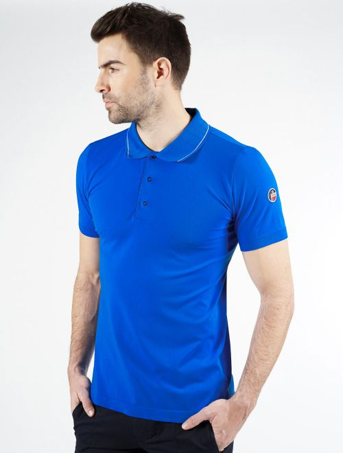AUBIN SEAMLESS POLO SHIRT