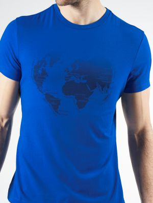 MAP PRINTED T-SHIRT