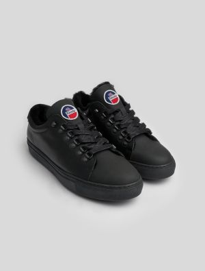 NASS FUR LINED SNEAKERS